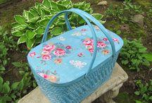 picnic basket / by Brenda Hackney
