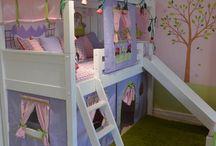 Cama casa de boneca