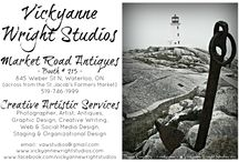 MARKET ROAD ANTIQUES ~ BOOTH #215 ~ / So I have a new business venue starting as of June 1st. Here is my promo cards for my booth and will post pictures after it is all set up. Wish me luck!! <3 Vicky  © Vickyanne Wright Studios & - vickyanne - #VickyanneWrightStudios all rights reserved