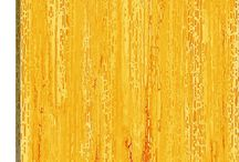 Yellow Abstract Art / 0