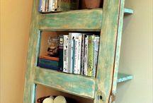 Стеллажи и полки-Racks and shelves