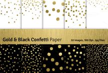 black gold design