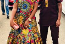 african print couples outfits