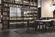 libreria pareti