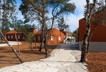 Luz Charming Houses - Exterior views / Exterior views of the small village of terracotta color, with 15 rooms in houses.