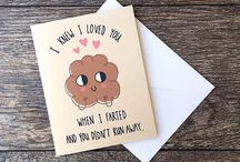 ORIGINAL 'I LOVE YOU' Cards / Is there a better way to say I LOVE YOU than in a completely original & funky way? Just SMILE  … These are Cards 4 Forever!