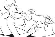Savčí poloha při kojení