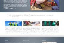 Sitios Web / La manera más efectiva de dar a conocer a su empresa es a través de la web, por eso es fundamental para lograr una imagen impactante de su presencia en Internet debe contar con un diseño hecho a la medida de sus necesidades. / by Heureka
