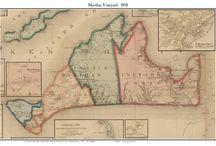 Martha's Vineyard Old Maps / Historic maps of Martha's Vinyard