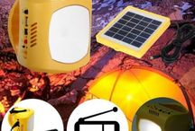 Outdoor and Sport Gears / Outdoor and sport equipments, mountain bike accessories, lamp, light, camp, shovel, etc