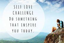 Self love and acceptance / self love and acceptance