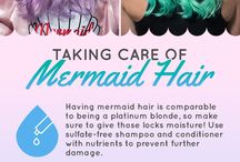 Mermaids! Everything mermaid - mermaid hair, mermaid clothes, mermaid stuff