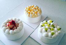 Asian cake style
