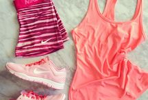 Women's running clothes