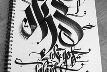 calligraphie & typographie