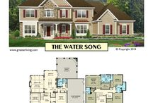 Two Story House Plans / House Plans -  Two Story House Plans - Greater Living Architecture - Residential Architecture