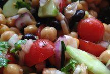 Salad with Chickpeas / Salad