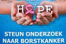 A Sister's Hope / www.asistershope.org Daar zet ik me voor in, om meer geld op te halen voor wetenschappelijk onderzoek naar borstkanker