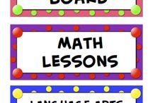 Organització aula / by Lídia Trilla Tost