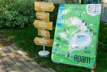 Epam Party / Организация:  Batina Evgenia Декор: Студия event дизайна JennyArt Фото: Hey People Report