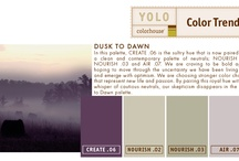 YOLO Colorhouse Color Trends / YOLO Colorhouse Color Trend Palettes / by Colorhouse Paint