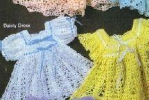 Free chrochet baby dress