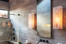Bathrooms-Contemporary / by Cindy Hattersley Design/Rough Luxe Lifestyle Blog