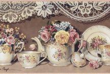 Картинки для чайных шкатулок
