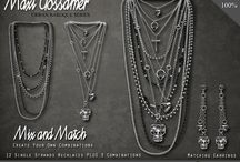 Rockers / #secondlife multi-strand jewellery sets