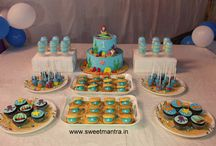 Dessert Table / Call us to order/send customized homemade eggless Dessert Table for a special occasion in Pune