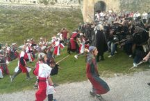 Fiabe nella Rocca - Un giorno con Artù, Ginevra e Merlino / 24 maggio 2015 Avventura in costume per bambini