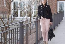 i love pink pants!