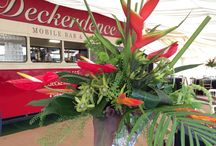 Deckerdence bus bar and marquee / Wedding, party and event displays and styling inside the Deckerdence bus bar marquee