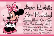 Minnie Mouse birthday party / by Stephanie Coello