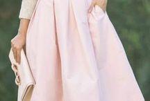 spodnice midi