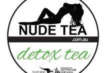 """Detox Tea / """"Super cleansing green tea combined with lemon grass, chicory root, St Mary's thistle, and ginger powder makes this the ultimate organic detox tea for a digestive detox and fresh start!"""""""