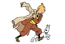 Tintín, Hergé, Comic / Imágenes y láminas sobre Tintín