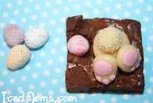easter cupcake/brownie ideas