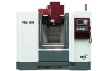 Vertical Machining Center / Vertical Machining Center includes standard accessories like ATC, Cooling system, Working Lamp, Alarming lamp, Spindle blowing device, Spiral chip removal,     Foundation bolts and pads, Heat exchanger,     Automatic chip flushing, Tool kit and Rigid taping.