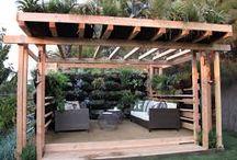 Outdoor room ideas / Ideas for creating a beautiful pool cabana