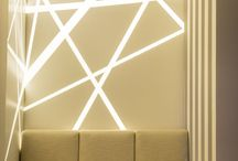 Стена с LED подсветкой