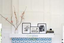 Decoracion baños / Wow quiero ese baño. Usa mosaicos, azulejos y pisos de cemento.