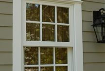 Exterior window & wall trim