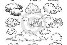 chmury,góry