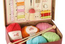 Knitting/Crocheting/sewing / by Myla Myers