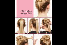 hair / Haare färben und stylen.... das täglich... :)