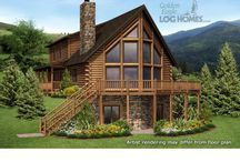 Log Cabin Plans & Blueprints