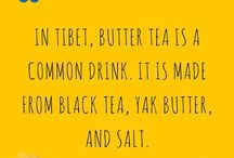 Tea facts / Beautiful array of facts about tea!