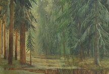 Живопись / Живописные работы художников Мастерской Анпилоговых. Некоторые работы находятся в продаже, возможно также изготовление авторских копий.