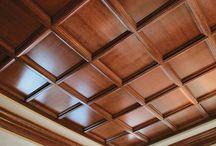 Кесонные потолки